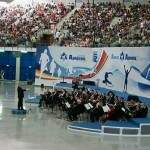 Concert in Arena Armeec Sofia Sports Hall, Bulgaria - one of the most modern in Europe.