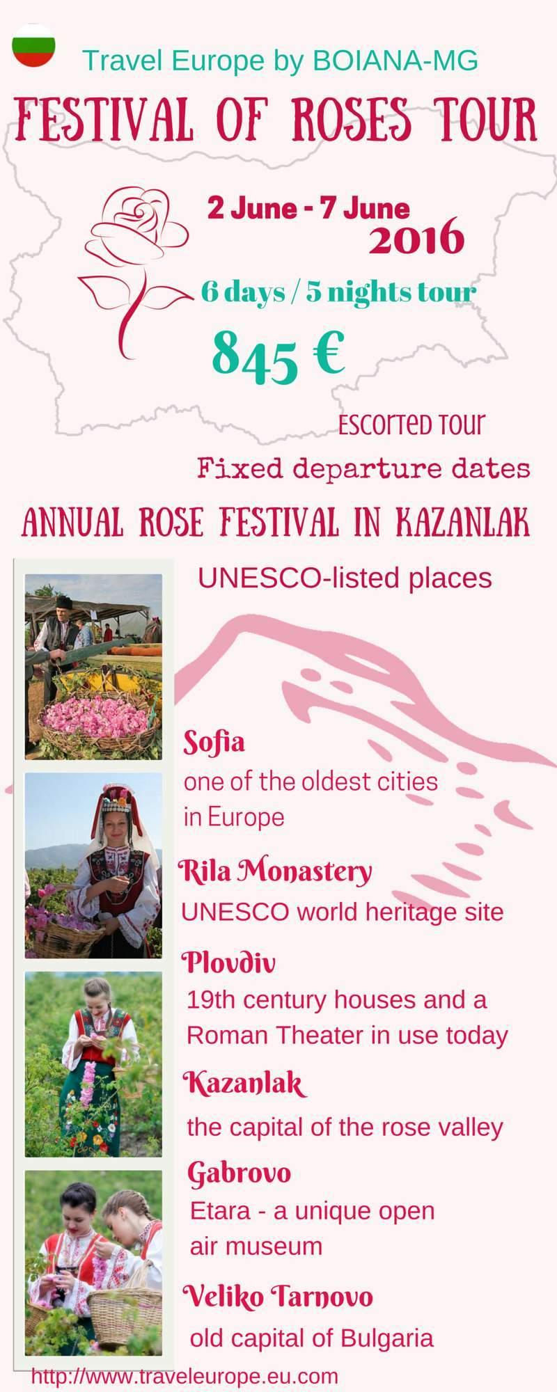 Festival of Roses Tour